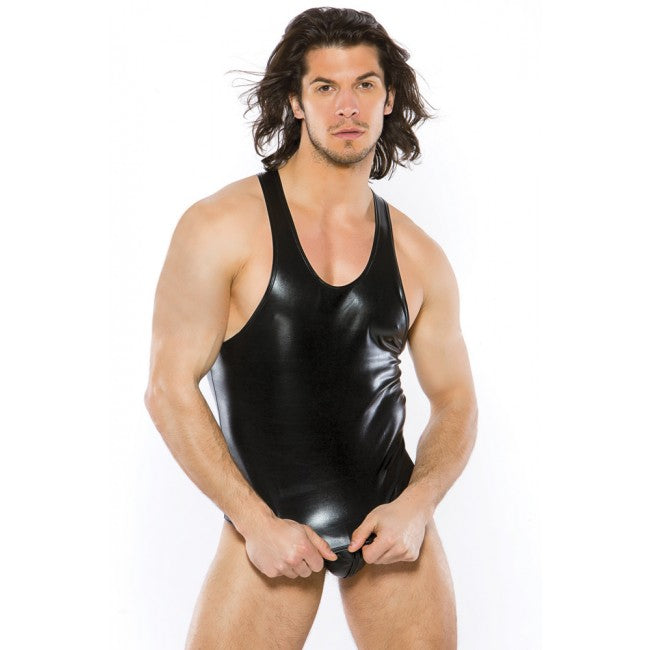 Zeus Wet Look Tank Top Black | Sexy Outfits, Attire For Men, Sex Toys For Men, Sex Toys, Adult Toys | My Sex Shop