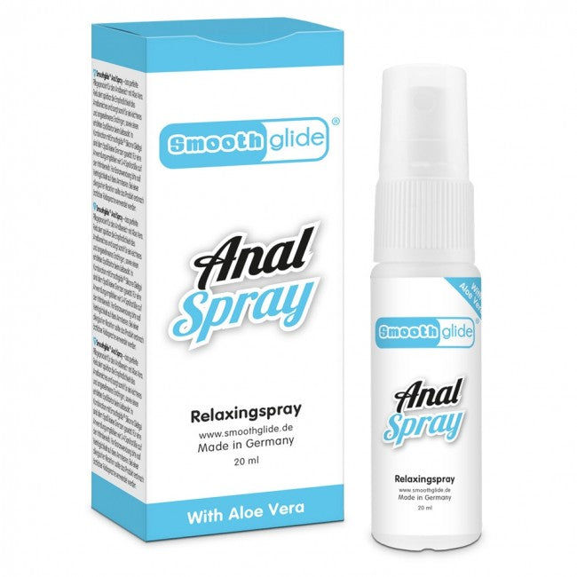 Smooth Glide Anal Relaxing Spray 20ml | Better Sex, Sex Enhancement, Sex Toys, Adult Toys | My Sex Shop