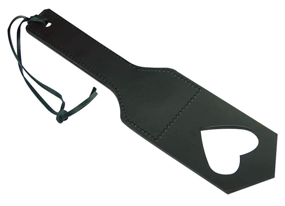 Zado Spanking Paddle, Genuine leather, Reinforced handle.