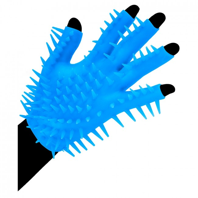 Neon Newest Magic Masturbation Glove Blue | Sex Toys For Men, Sex Toys, Adult Toys | My Sex Shop