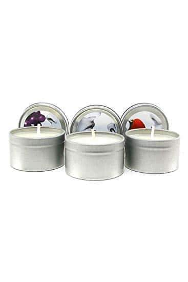 Edible Massage Oil Candle Threesome 57g | Massage Oil, Suckable Oil, Sex Toys, Adult Toys | My Sex Shop