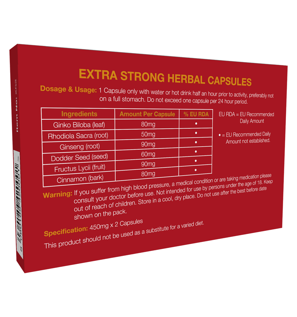 EXTRA STRONG 450MG 2 CAPSULES | Sex Toys For Men, Sex Toys, Adult Toys | My Sex Shop