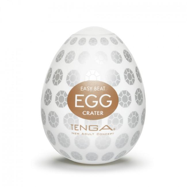 Tenga Egg Crater White, twist & squeeze | Sex Toys For Men, Sex Toys, Adult Toys | My Sex Shop