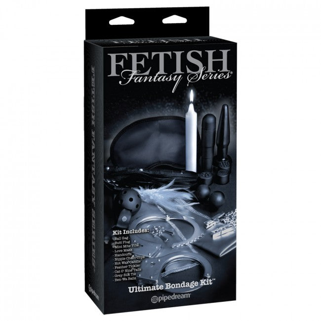 Fetish Fantasy Limited Edition Ultimate Bondage Kit Multi | Ladies Sex Toys, Sex Toys For Women, Sex Toys, Adult Toys | My Sex Shop
