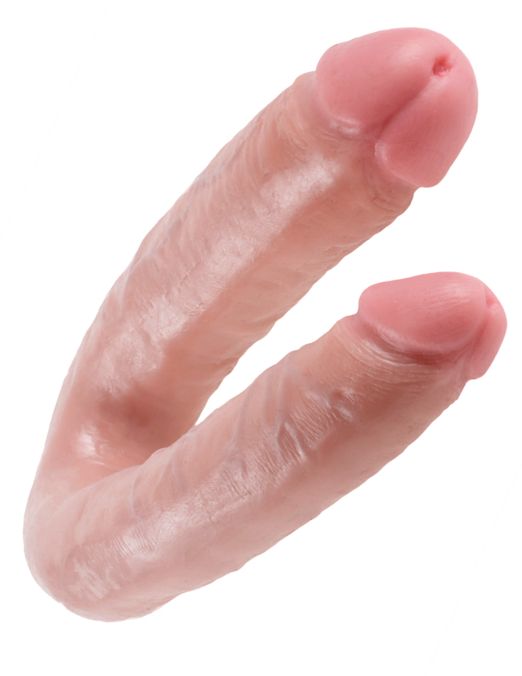 King Cock U-Shaped Large Double Trouble Flesh | Dildos, Vibrator, Realistic Dildos, Sex Toys For Women, Sex Toys, Adult Toys | My Sex Shop