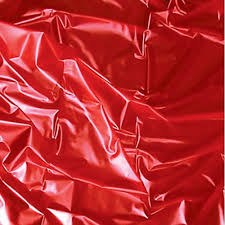 Red Sexmax PVC Bed sheet 180 X 220