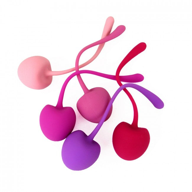 Shibari Pleasure Cherry Kegel Balls 5 Pack Multi | Vibrator, Ladies Sex Toys, Sex Toys For Women, Sex Toys, Adult Toys | My Sex Shop