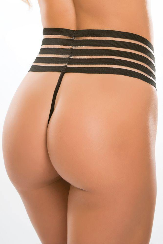 Cheeky Chique High Waist G-String