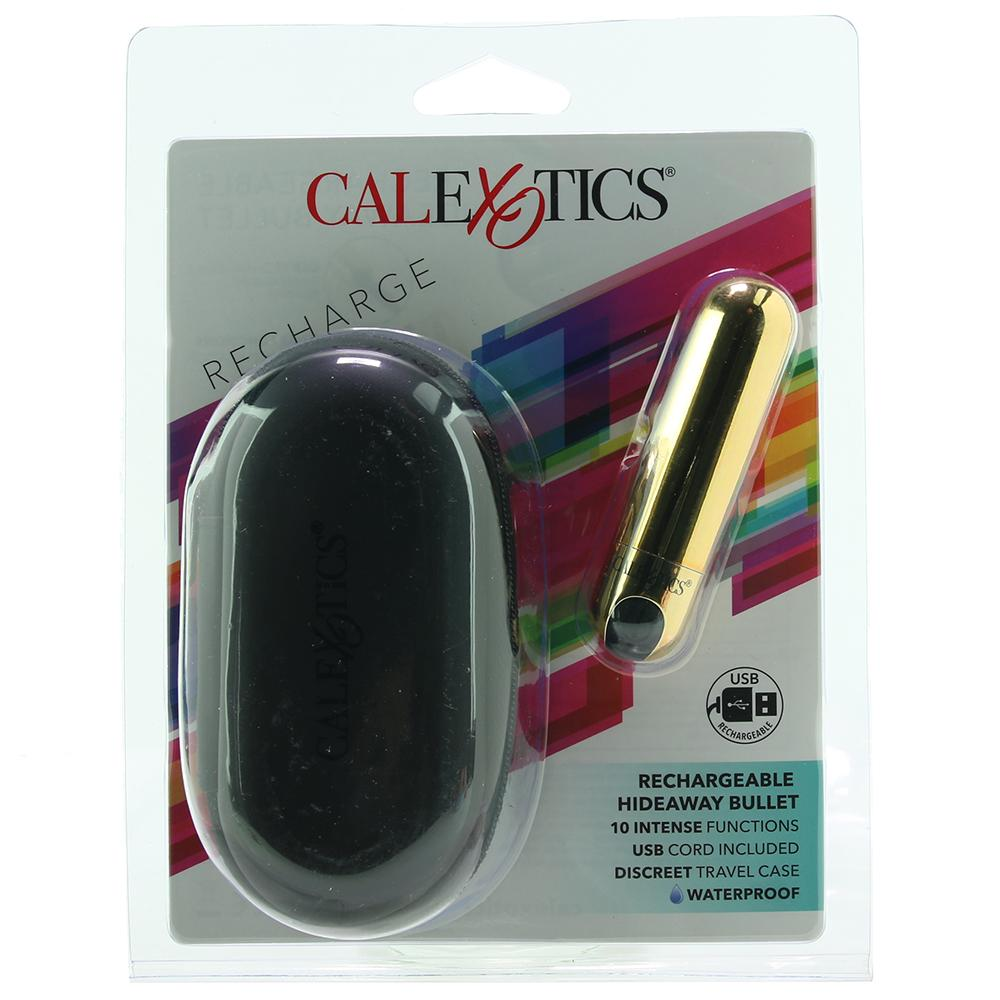 Rechargeable Hideaway Bullet Vibe | Gold