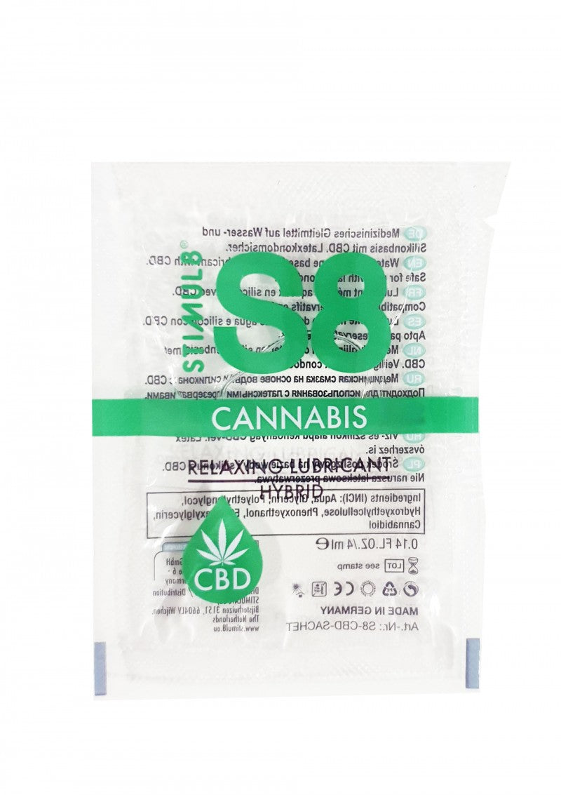 S8 Hybrid Cannabis Lube 125 ml