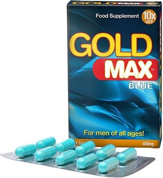 GoldMax Booster for Men 10 Capsules