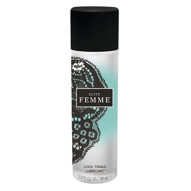 Wet Elite Femme Cool Tingle Transparent 89ml