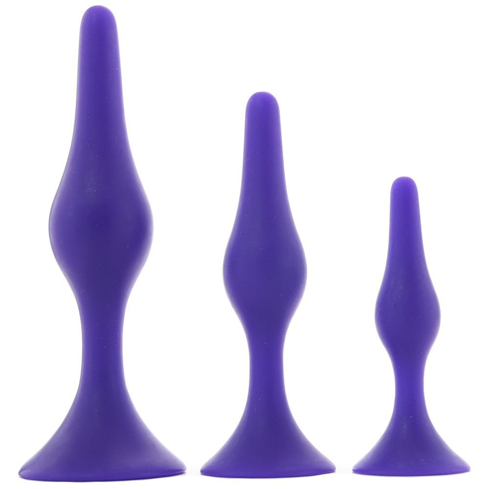 Booty Call Booty Trainer Kit | Purple | Anal Butt Plug Probe Set