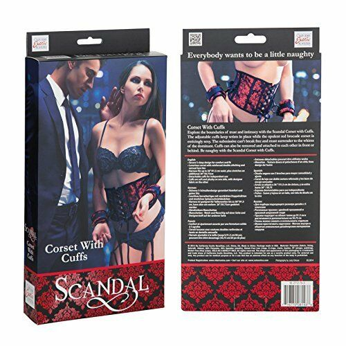 Scandal Corset With Cuffs