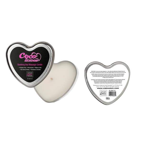 Coco Licious Soothing Soy Massage Candle | Better Sex, Sex Enhancement, Sex Toys, Adult Toys | My Sex Shop
