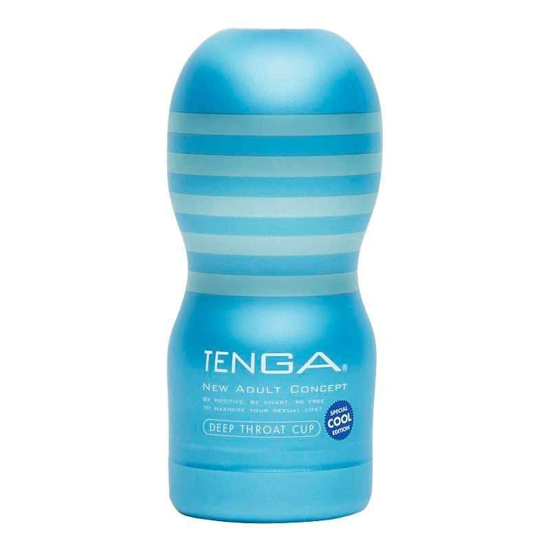 Tenga Deep Throat Cooling Cup, air flow valve, infused lubricant | Sex Toys For Men, Sex Toys, Adult Toys | My Sex Shop