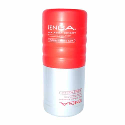 Tenga Double Hole Cup, Sweet & Firm Side
