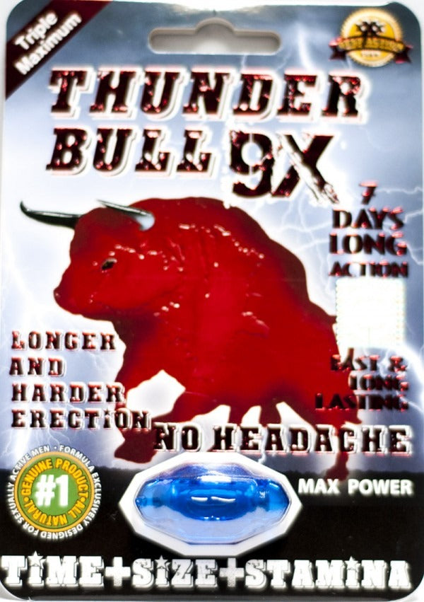 Thunder Bull X9 | Enhancement Pill
