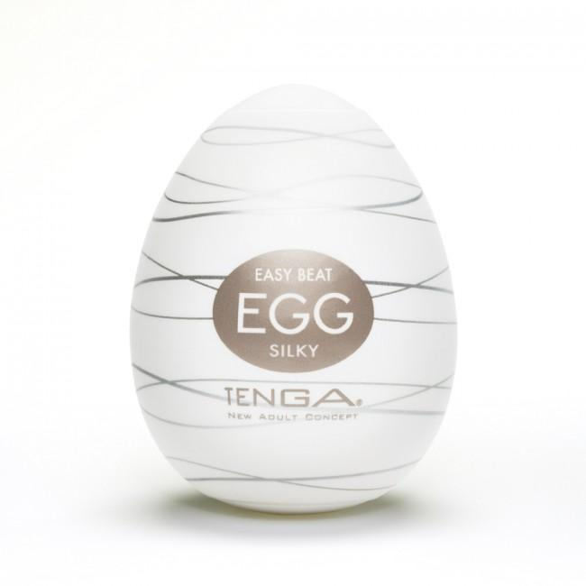 Tenga Egg Silky White, twist & squeeze | Sex Toys For Men, Sex Toys, Adult Toys | My Sex Shop