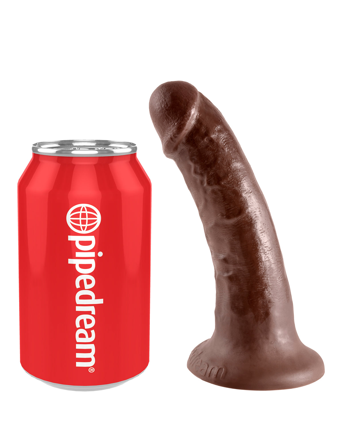 King Cock 6 inch Cock Brown | Dildos, Vibrator, Realistic Dildos, Sex Toys For Women, Sex Toys, Adult Toys | My Sex Shop