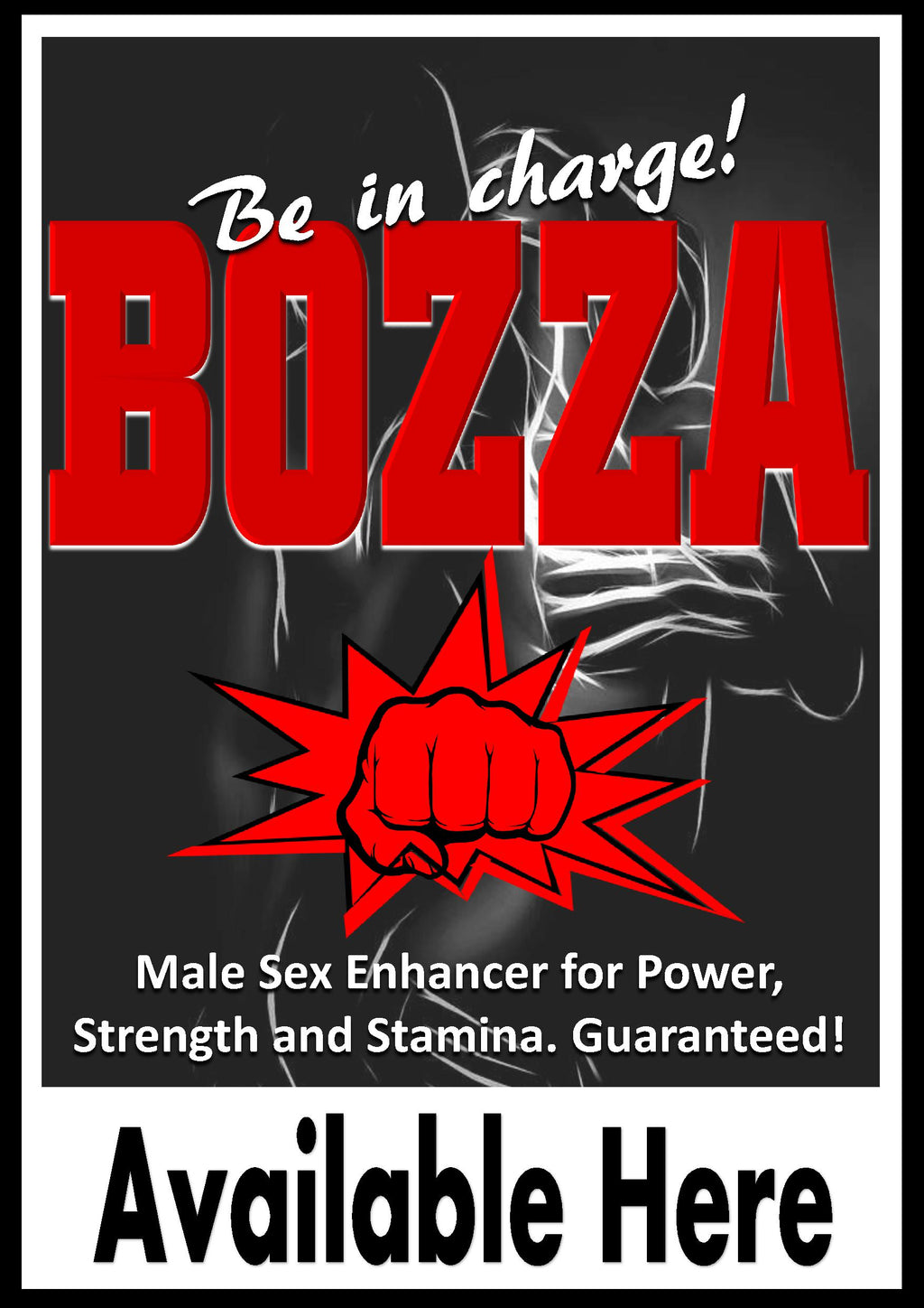Bozza Maximizer - male sexual supplement