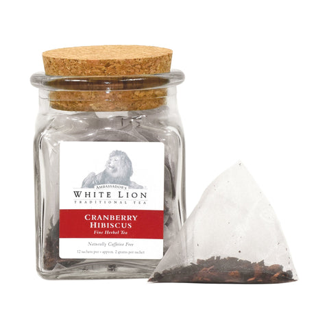 Image of Ambassador's White Lion Cranberry Hibiscus Tea