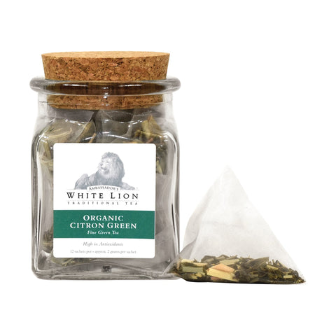 Image of Ambassador's White Lion Organic Citron Green Tea
