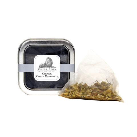 Image of Ambassador's White Lion Organic Citrus Chamomile Tea