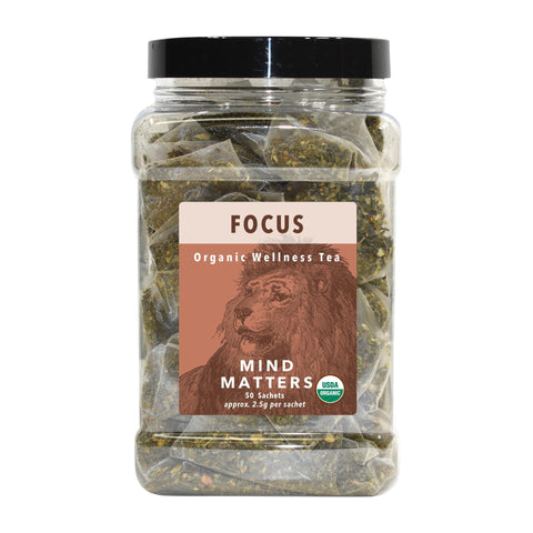 Image of Ambassador's White Lion Focus (Mind Matters) Tea