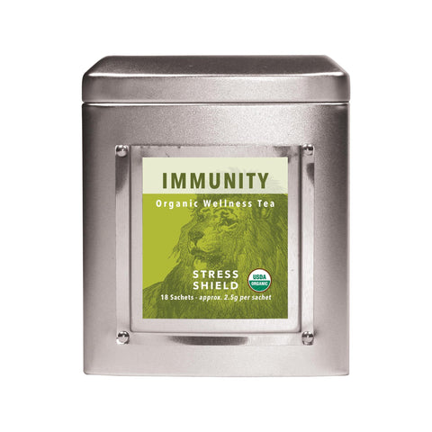 Image of Ambassador's White Lion Immunity (Stress Shield) Tea