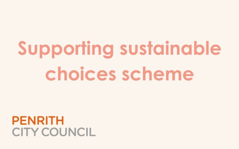 Supporting Sustainable Choices Scheme