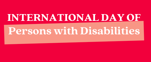 The International Day of Persons with Disabilities