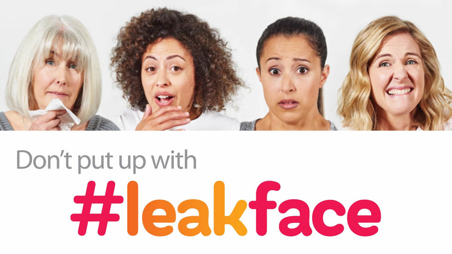 World Continence Week 2017 - Put an end to #leakface