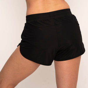 Modibodi Active Running Shorts Black Light-Moderate