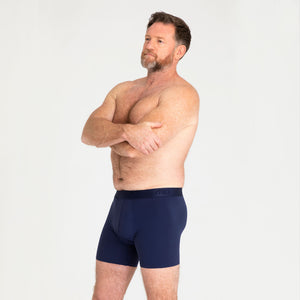 Mens Trunk - Navy Light-Moderate Absorbency - Modibodi
