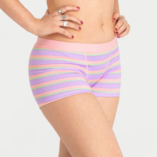 Load image into Gallery viewer, Hipster Boyshort - Rainbow Stripes - Modibodi