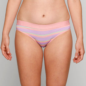 Hipster Bikini - Rainbow Stripes - Modibodi