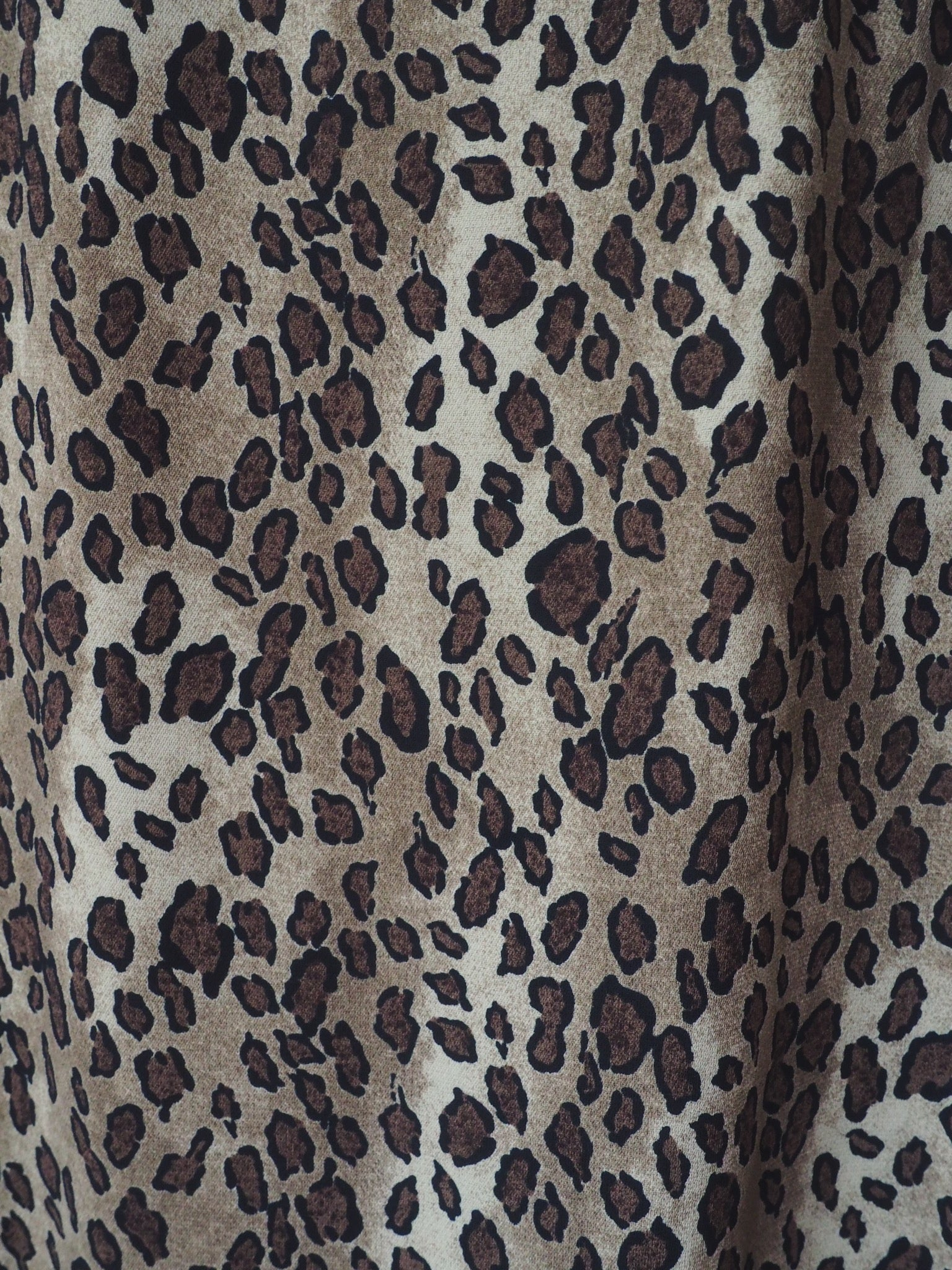 Leopard Print Maxi with Slit