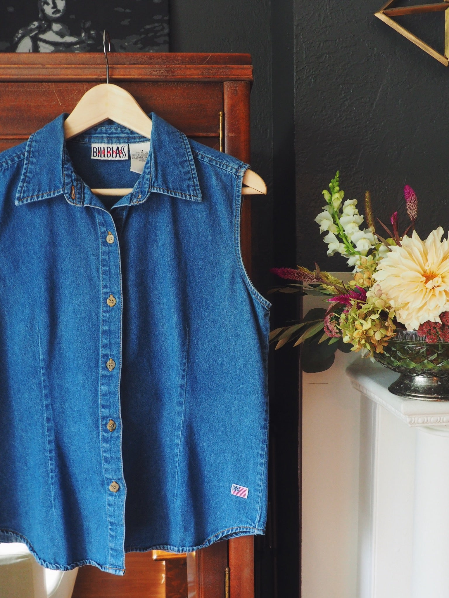 Vintage Denim Top