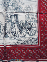 Load image into Gallery viewer, Vintage Burgundy Jim Renoir Scarf