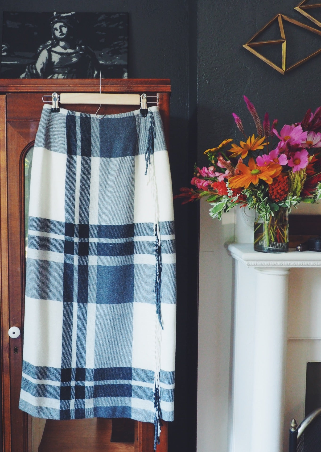 Wool Wrap Skirt