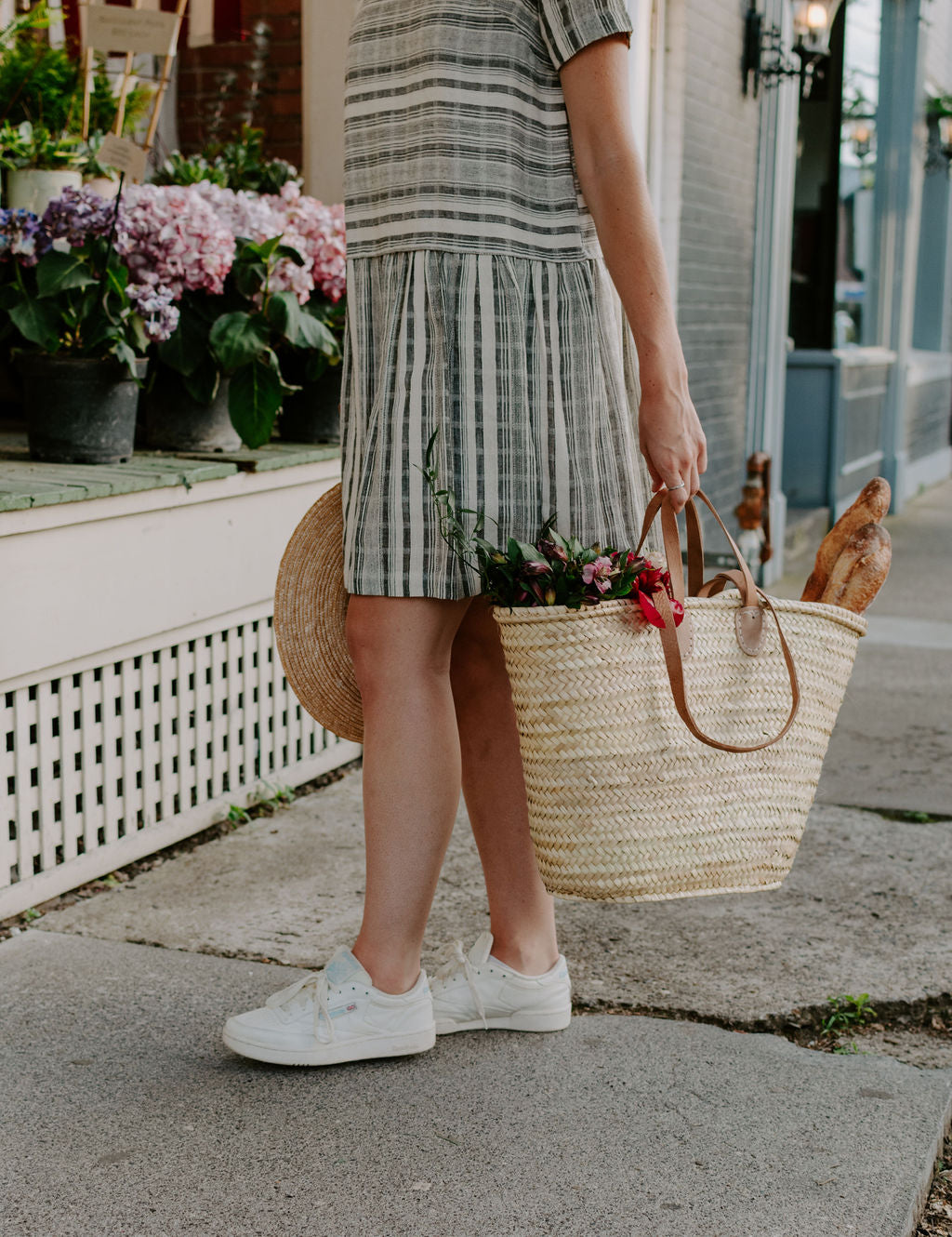 The Classic French Market Bag