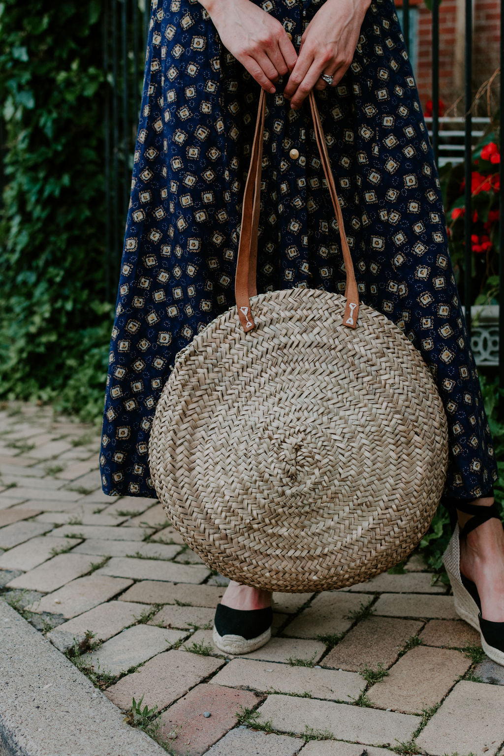 The Round Summer Basket