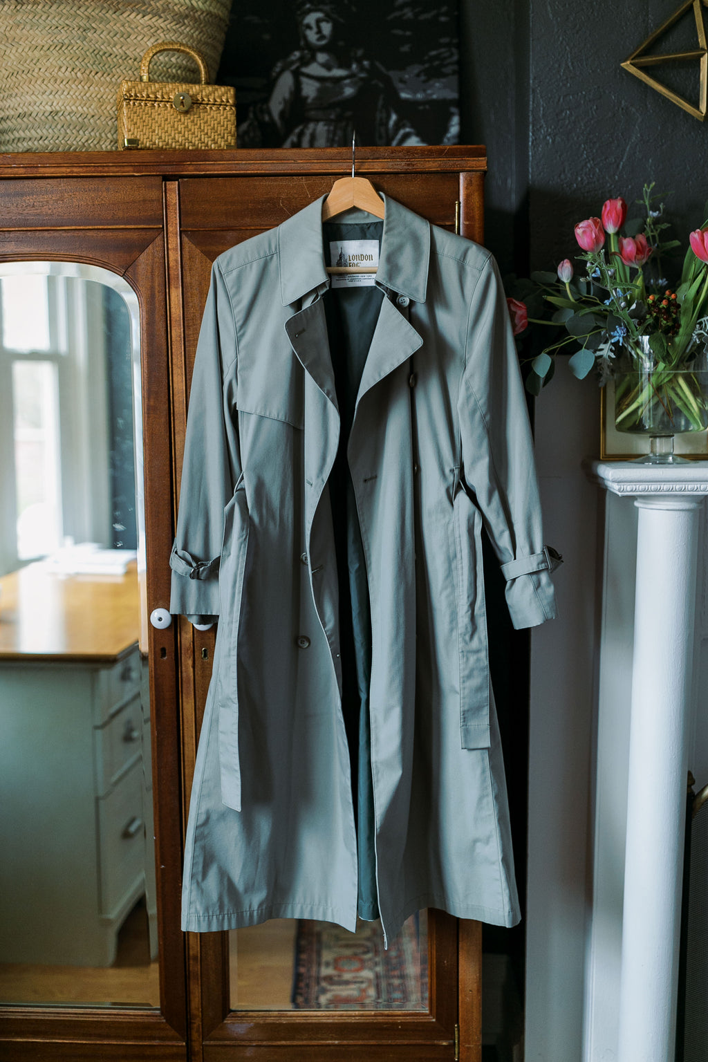 London Fog  Made in the USA Trench Coat