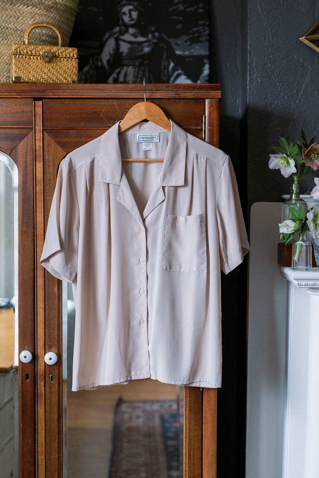 Made in the USA Vintage Utility Blouse