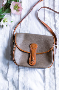 Braciano Leather Crossbody Purse