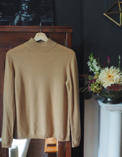 Cashmere Camel Sweater