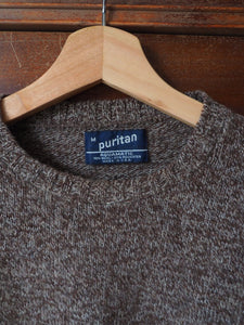 Vintage Brown Crew Neck Sweater