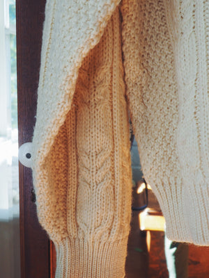 Vintage Wool Cable Knit Sweater