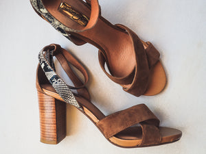 Halogen Heeled Sandals